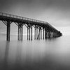 San Simeon Pier Study #1.<br /> San Simeon, California, USA, 2014.<br /> Ideal Print Format: 1:2 Pano.