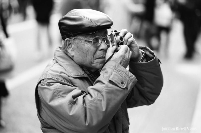 Gent with Minox Leica M3