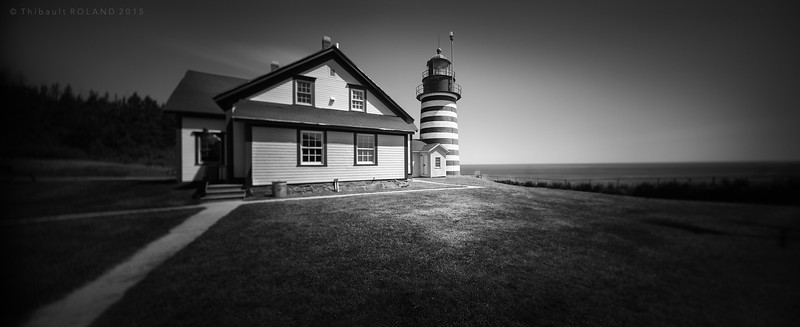 West Quoddy Head Light.