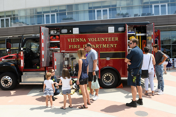 Public Safety Day at Tysons Corner August 2017