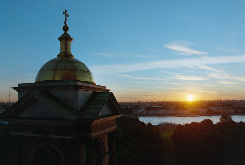 View From St Isaac's, St Petersburg, Russia
