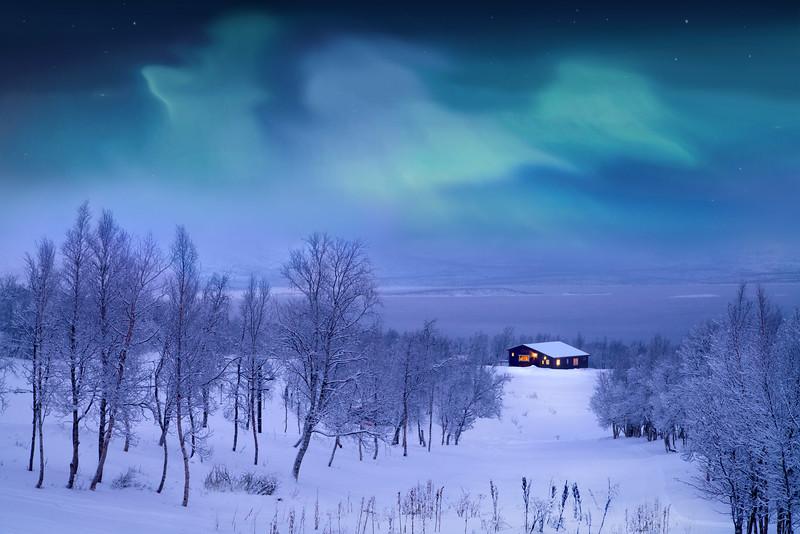 Abisko, Sweden.