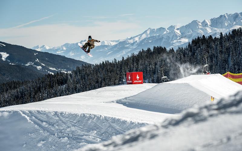 Snowpark Sessions, Snowboarding Kitzbühel, Austria 2017, Lea Baumschlager