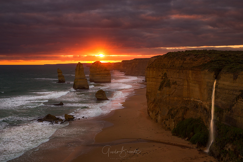 Clearing Storm over Twelve Apostles
