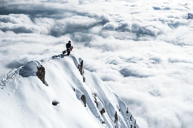 Scouting the line, Nordkette, Austria 2018, Nico Metz