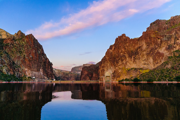Horse Mesa Dam, Apache Lake,, Arizona