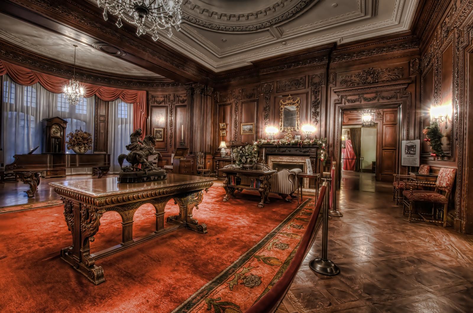The Oak Room of Casa Loma