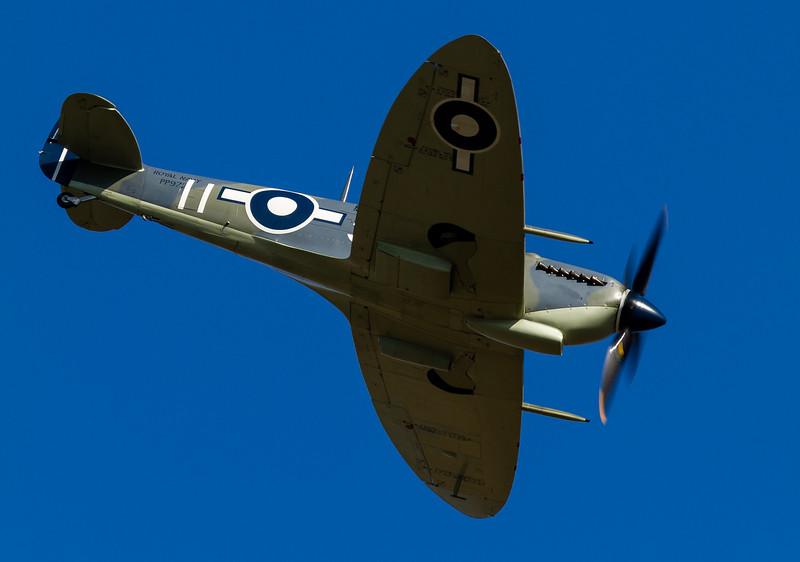 Seafire MK III PP972 and Carolyn Grace Spitfire ML407