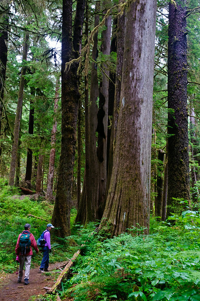 Mary and Jean - Olympic National Park