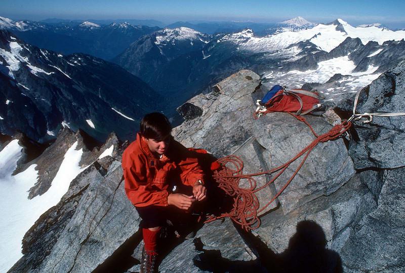 Greg at the top of Washington