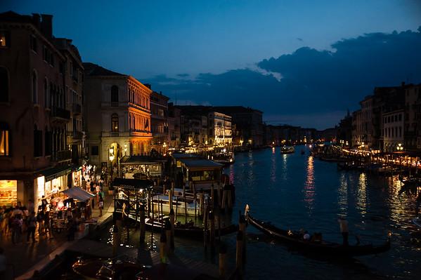 Venice from Rialto Bridge