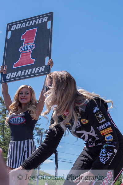 Leah Pritchett - 2017 New England Nationals Driver Intro