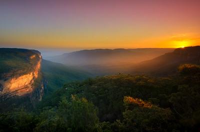 Landscape Vista - Jamison Sunset