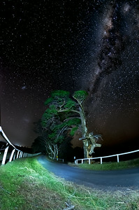 Starscape - road to the milky way