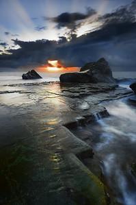Dawn Seascape - Forrester's Beach