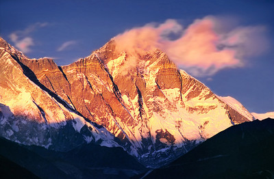 Dawn on Everest