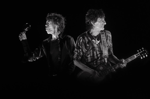 Mick and Ronnie, Glastonbury 2013