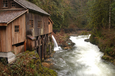 Cedar Creek Grist Mill. Washington