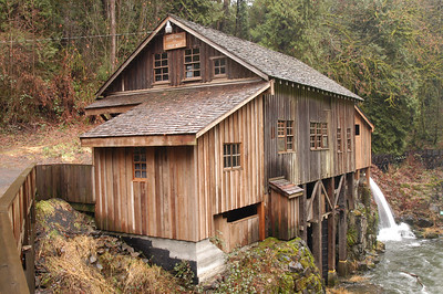 Cedar Creek Grist Mill, Washington
