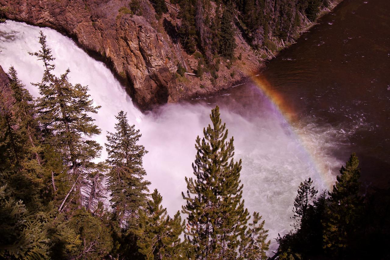 Upper Falls Rainbow - IMG#8552