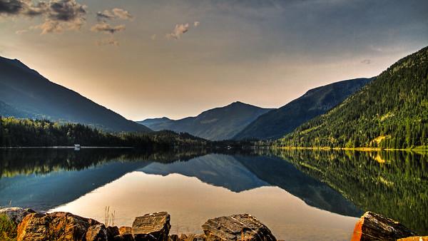 Monte Lake, BC, Canada (OnOne Effect - Golden Hour Enhancer)