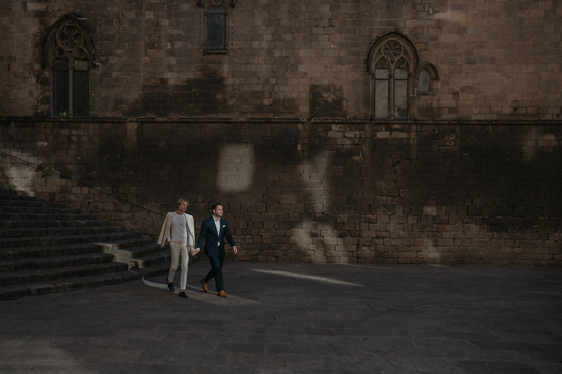 Same-sex elopement   Barcelona