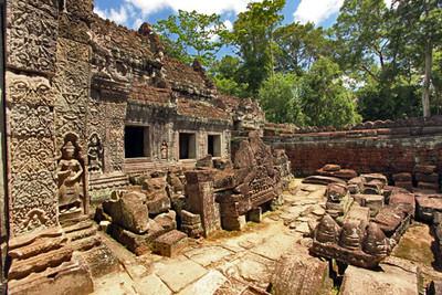 Preah Khan ruins