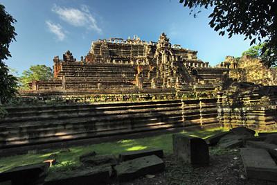 Royal Palace at Angkor Thom ruins complex