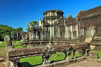 Angkor Wat, a depository for exquisite religious carvings