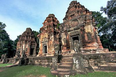 Preah Ko site in the Rolous Group
