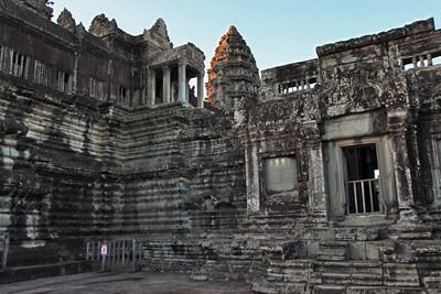 Inner courtyard at Angkor Wat