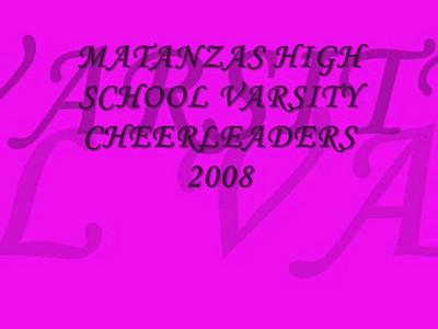 Matanzas High School Varsity Cheerleaders