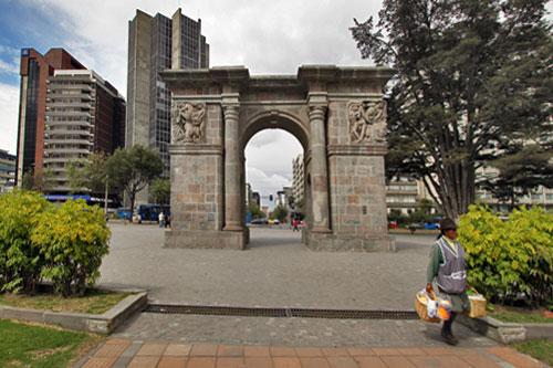 Arco de la Circasiana in Parque El Ejido