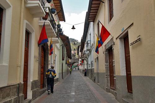 La Ronda Street, Quito