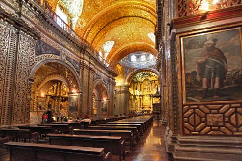 Convento de la Merced in Old Town, Quito