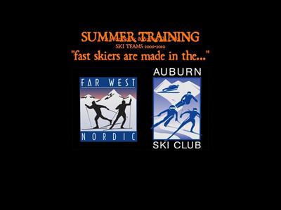 FAR WEST NORDIC / AUBURN SKI CLUB 2010