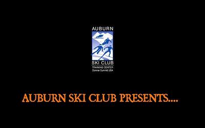AUBURN SKI CLUB PROMO 2011