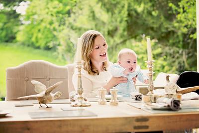 Charlotte Heath-Bullock & Baby Tristan. 19th May 2016. Compton, Guildford. Portraiture.
