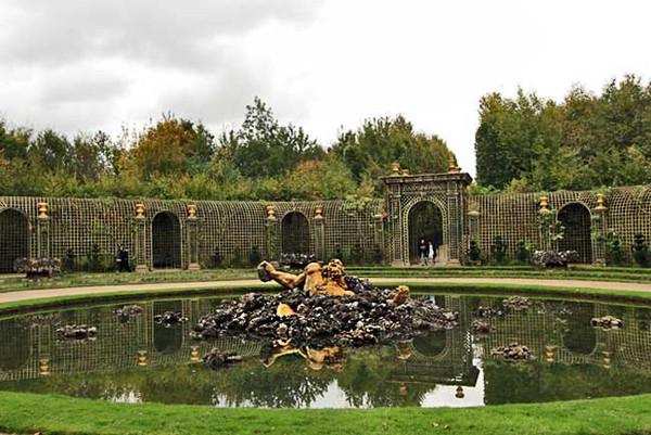 Encelade Grove in Versailles Gardens, France