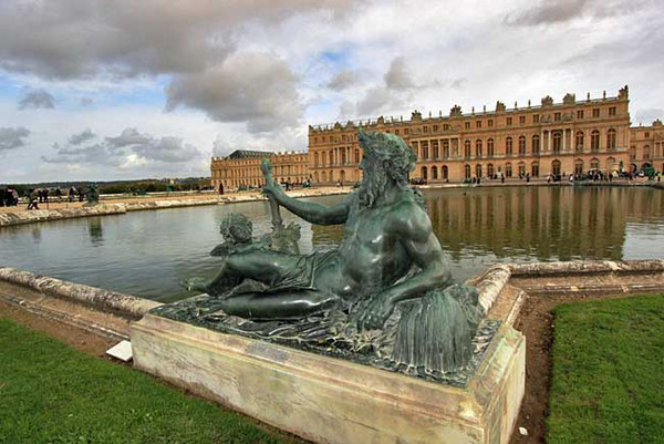 Water Parterre on the Great Perspective, Versailles Gardens, France