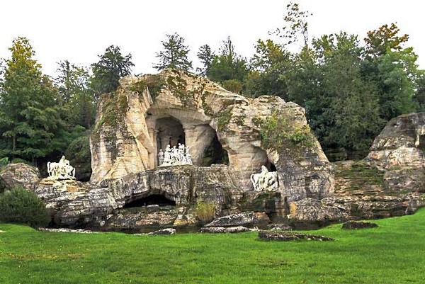 Grove of Apollo's Bath at Versailles Gardens, France