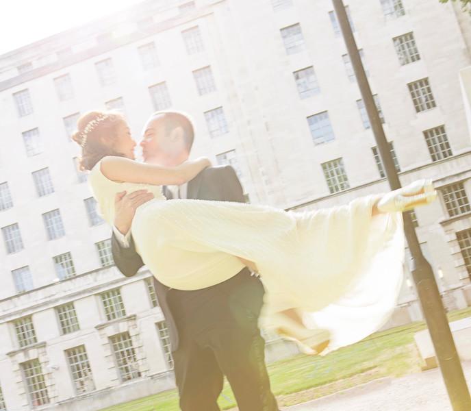 Pre-Wedding Photoshoot. Dom & Nut. London 2015.
