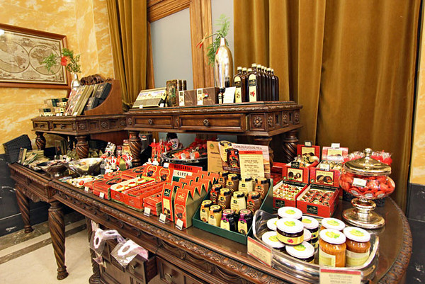 Specialty products at Szamos Gourmet Palace