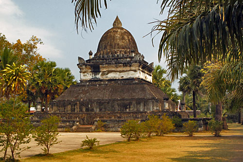 Watermelon Stupa at Wat Visounnarath