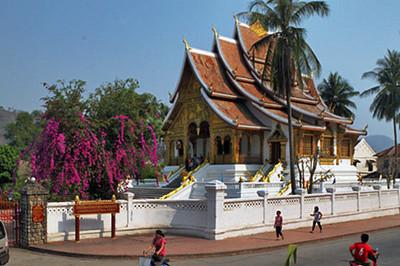 Wat Ho Prabang at Old Royal Palace Compound