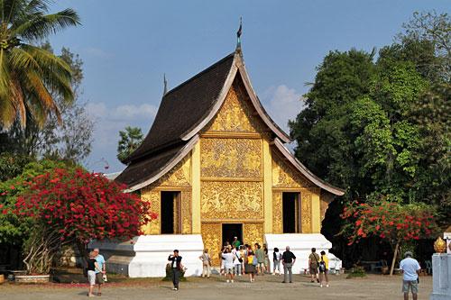 Wat Xieng Thong, most beautiful temple in Laos