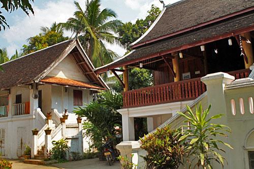 Monks residence at Wat Xieng Thong