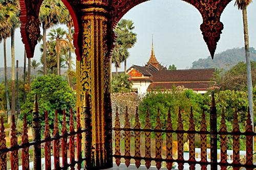 National Museum from Wat Ho Prabang