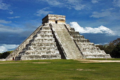 Kukulcan Pyramid, one of the Seven Wonders of the World