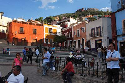 Another Guanajuato plazuela